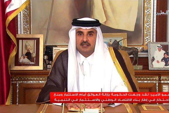 Qatars emir vil gå i dialog med nabolandene