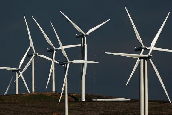 Nesten all ny energi i fjor var fornybar