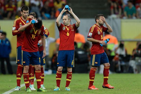 Spanske stjerner rundstjålet under landskamp