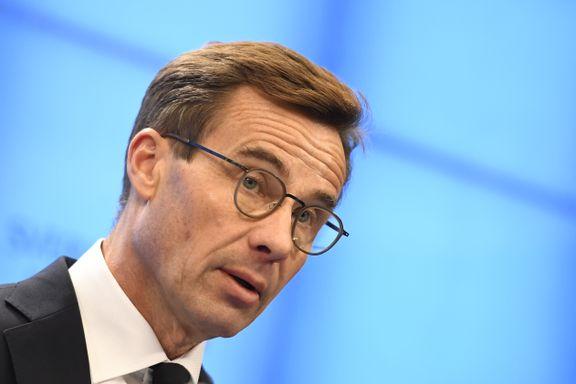Moderaterna og Kristdemokraterna vil danne regjering i Sverige