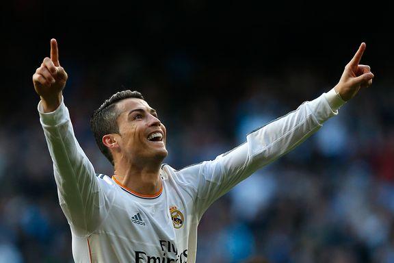 Ronaldo sendte Real Madrid til topps