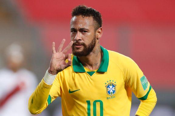Neymar klatret forbi Ronaldo – nærmer seg legendarisk målrekord