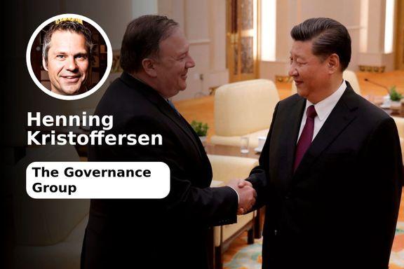 USA eskalerer kald krig med Kina