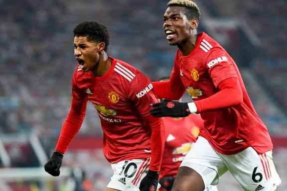 Rashford ble helten for Manchester United – sikret tre poeng på overtid