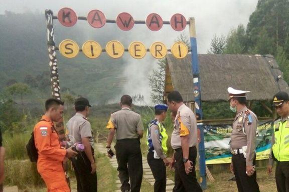 Åtte omkom i redningshelikopterstyrt i Indonesia