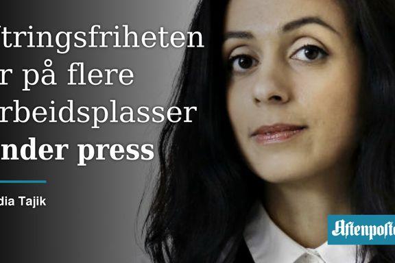 Alle arbeidsplasser kan trenge en vaktbikkje som Robin Schaefer | Hadia Tajik