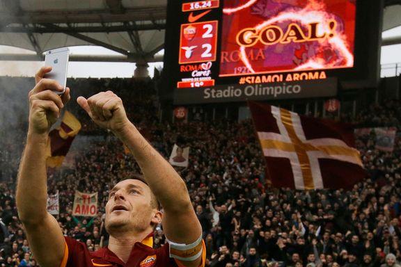 Totti truer med å forlate Roma etter 27 år