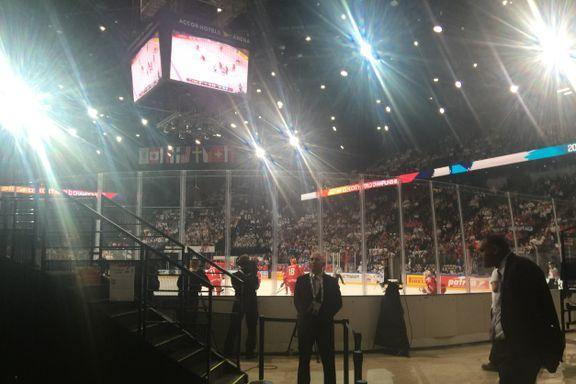 Her skal hockeygutta revansjere norsk håndballtap