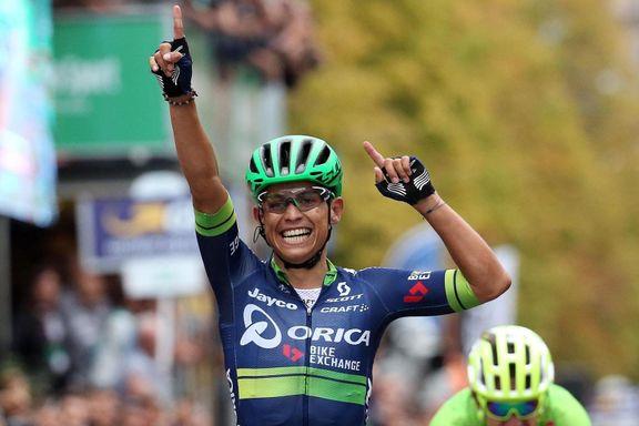 Colombianer vant kraftprøve i Giro d'Italia