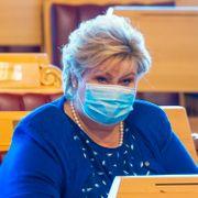 Erna Solberg refset i Stortinget for omstridt ansettelse