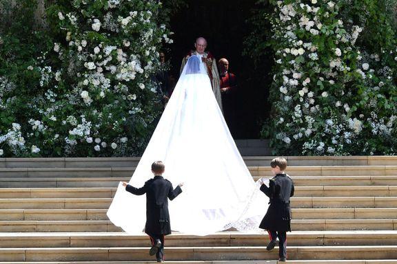 Windsor har pyntet seg til bryllupsfest. Se bildene.