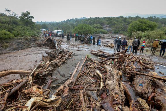 52 døde etter jordskred og flom i Kenya