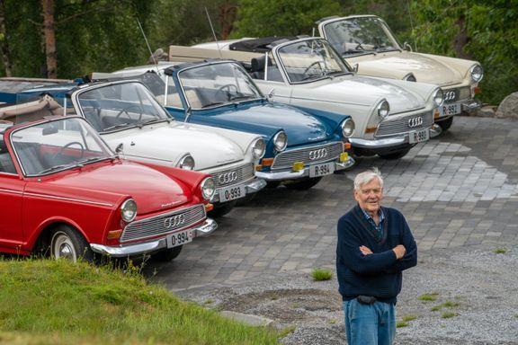 Det finnes kun 200 igjen av dem i hele verden. Bengt (74) har fem.