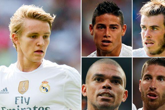 Skadekrise i Real Madrid kan gi Ødegaard ny sjanse