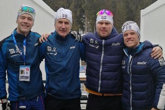 Her er det islandske skilandslaget fra Tromsø
