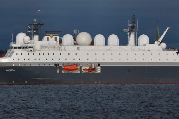 Motorer på topphemmelig norsk spionskip skal vedlikeholdes av russiskkontrollert selskap