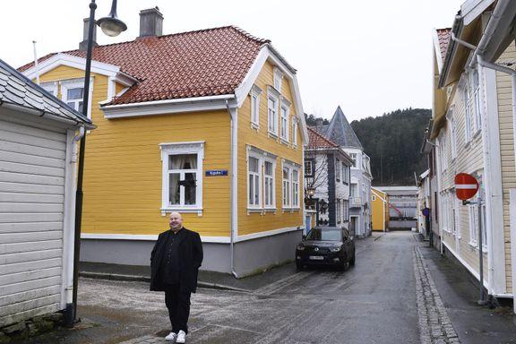 Bypatrioten bor i det gamle apoteket fra 1847