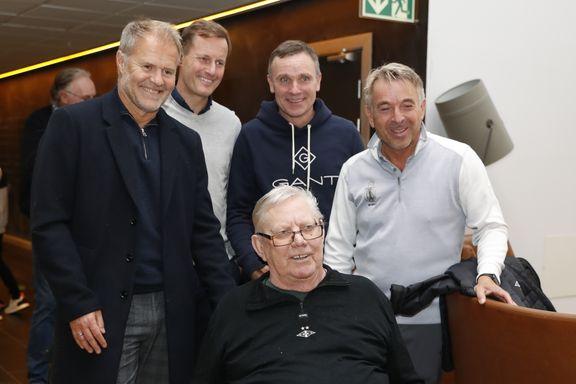 Se bildene: Mange kjente fjes kom for å feire Nils Arne Eggen