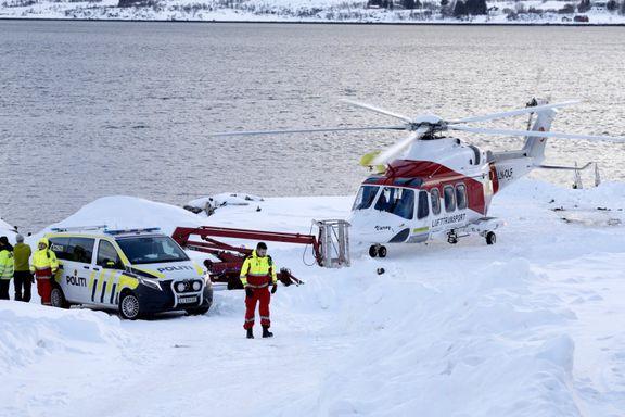 Mann omkom i snøskred i Lofoten