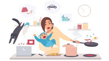 Hun er sjef og fikk barn sent i livet. Nå lurer hun på om det var riktig avgjørelse.
