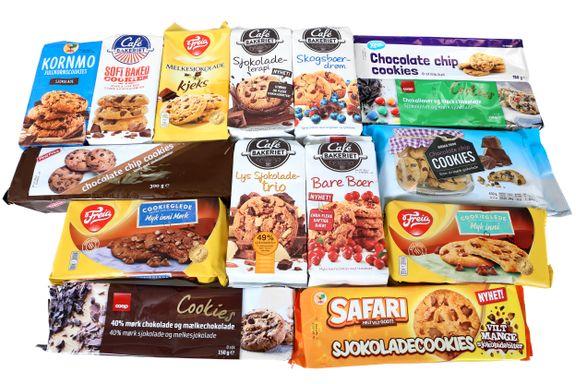 Stor forskjell på vinneren og taperne: Test av cookies