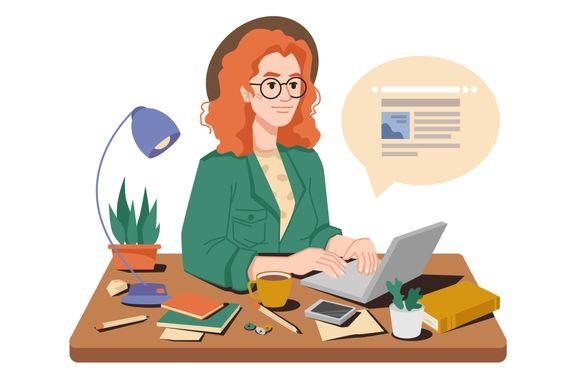 Hun er vant til å få jobber uten å søke. Nå sliter hun med å ta initiativ selv.