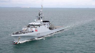 Både Franrkike og Storbritannia sender patruljefartøy til Jersey