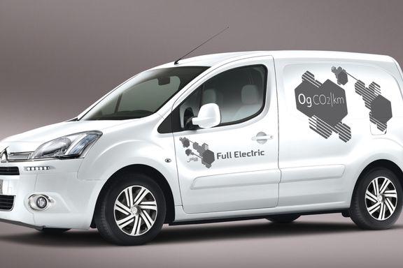 Økt vrakpant skal få fart på salget av elektriske varebiler