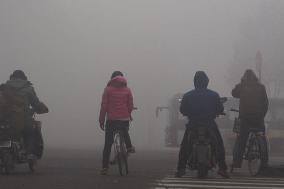 Kraftig økning av klimagassutslipp i Kina