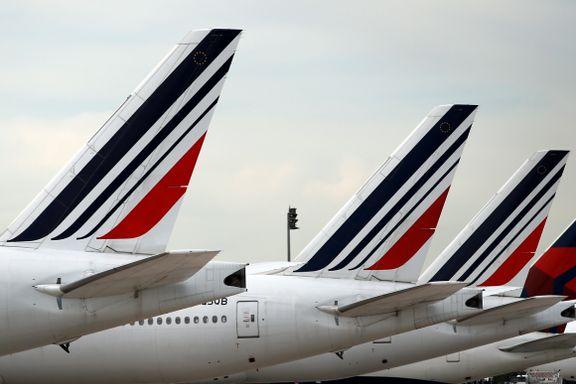 Fransk minister: Air France henger i en tynn tråd – kan gå konkurs