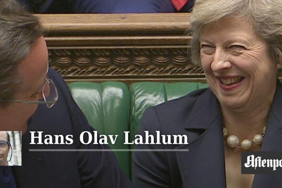 Kronikk: Theresa May vil få stor betydning for Camerons ettermæle | Hans Olav Lahlum