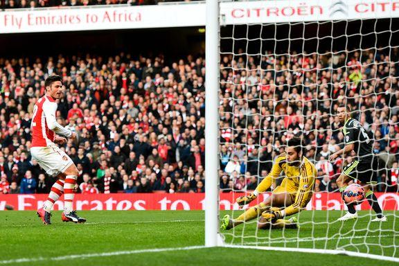 Giroud sendte Arsenal til kvartfinale mot sjanseløse Middlesbrough