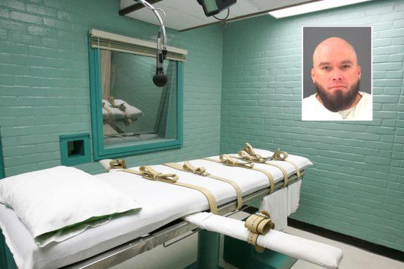 Onsdag skulle han dø. Et brev med bibelvers utsatte henrettelsen i siste liten.