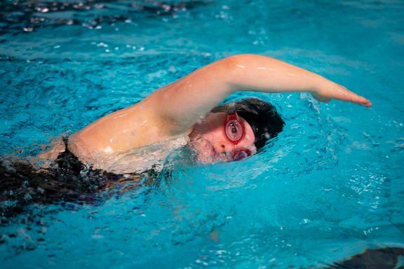 Lye-jenta Stina (15) i hardtrening til Special Olympics