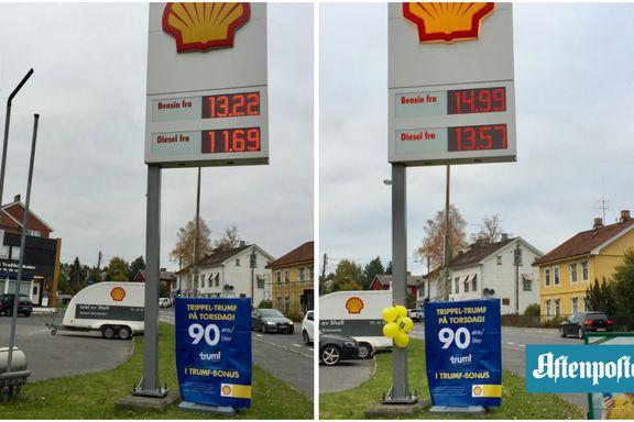 Stempler Shells bensintilbud som «simpel juksekampanje»