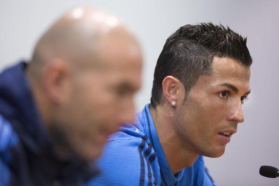 Fikk kritisk spørsmål om målformen. Da forlot Ronaldo pressekonferansen.