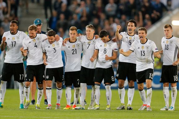 Nå er Tyskland EM-favoritt