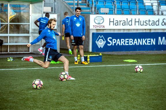 Gladmelding før semifinalen: Nå er Molde-profilen tilbake