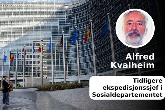 Lite truleg at EU godtek reduksjon i norske trygdeytingar til utlendingar som arbeider her | Alfred Kvalheim