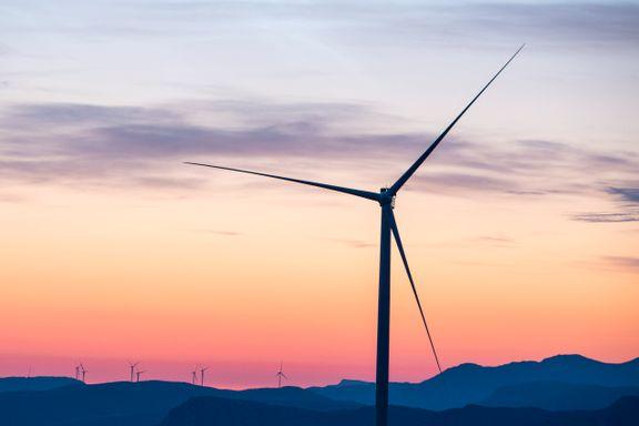 Få vindprosjekter fra 2022: Bransjen venter full stans