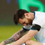 Messi og Argentina i trøbbel i storturnering
