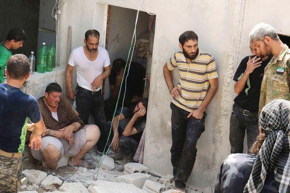 Mange barn drept i nytt tønnebombeangrep i Aleppo
