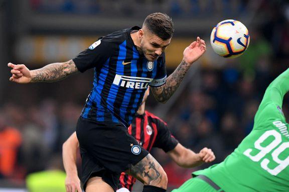 Icardi ble helten i tamt Milano-derby