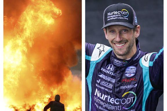 Overlevde branninfernoet – nå er han på seierspallen