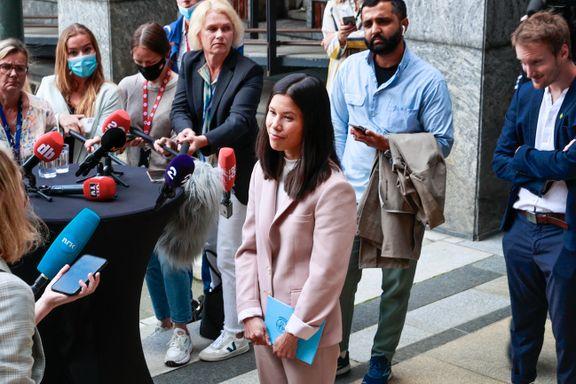 Aftenposten mener: Lan Marie Berg burde ha trukket seg