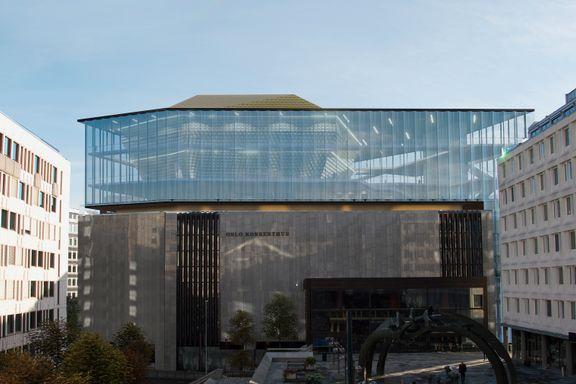 Foreslår kontroversielt grep: Vil løfte Oslo Konserthus i høyden