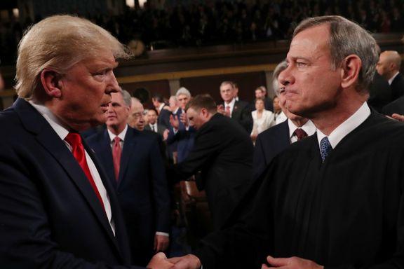 USAs sjefdommer kalles forræder av konservative som føler seg sveket