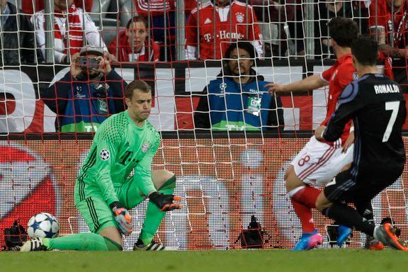 Rødt kort, straffebom og Ronaldo-dobbel i ellevill kvartfinale