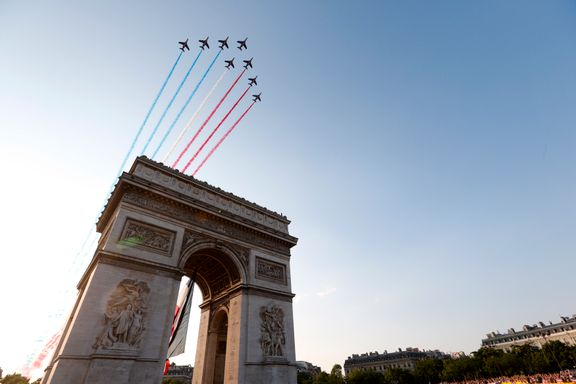 Se de spektakulære bildene fra Paris