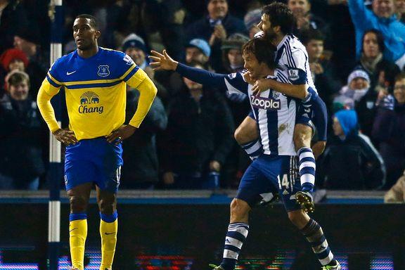 WBA sikret poengdeling mot Everton
